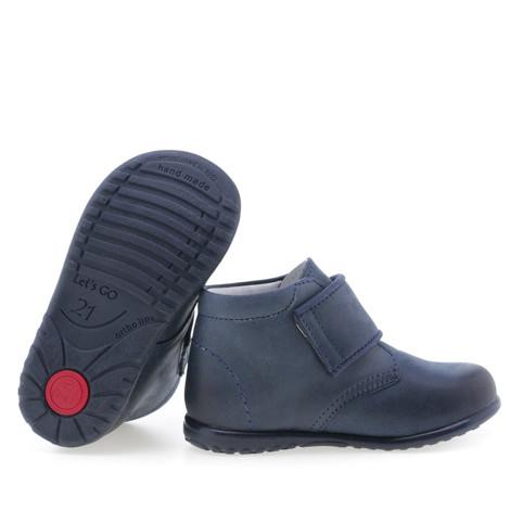 Imagine Pantofi din piele - handmade - EMEL 24 Albastru