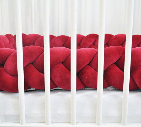 Imagine Protectie impletita Velvet Red
