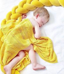 Protectie impletita Velvet Yellow