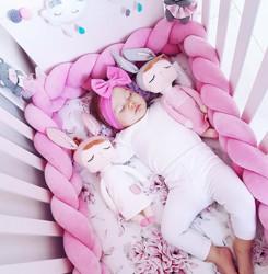 Protectie impletita Velvet Pink Woven