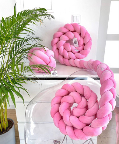 Imagine Protectie impletita Velvet Pink Woven