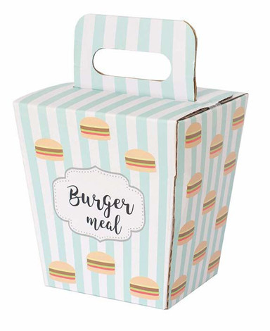 Imagine Set Meniu-Burger, din lemn