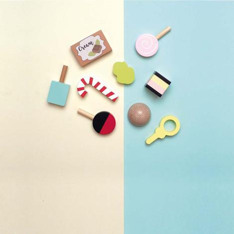 Imagine Platou cu dulciuri, de lemn