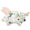 Imagine Pernuta Sleepy Pig Minky - Wild Blossom - Powder Pink