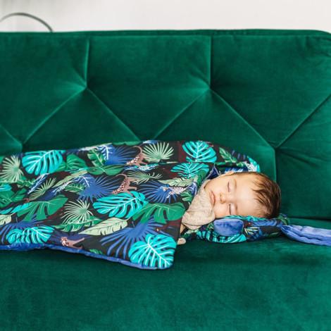 Imagine Pernuta Sleepy Pig Velvet - Capadoccia Sky - Dove Blue