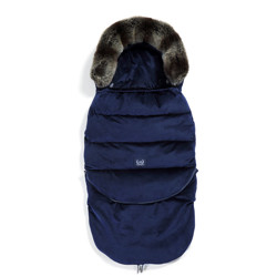 Imagine Sac pentru carucior Aspen COMBO - Waterproof - Velvet Collection - Royal Navy