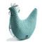 Imagine Perna Multifunctionala HEN - Deep Ocean/Blue birds vivid