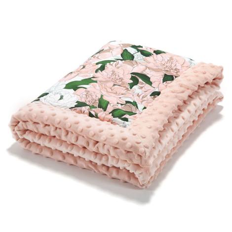 Imagine Paturica nou-nascut  65x75 cm - Lady Peony - Powder pink