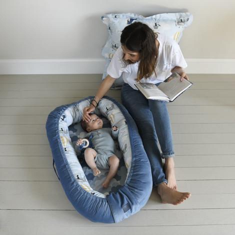 Imagine Baby Nest Velvet - Rafaello - Lady Peony