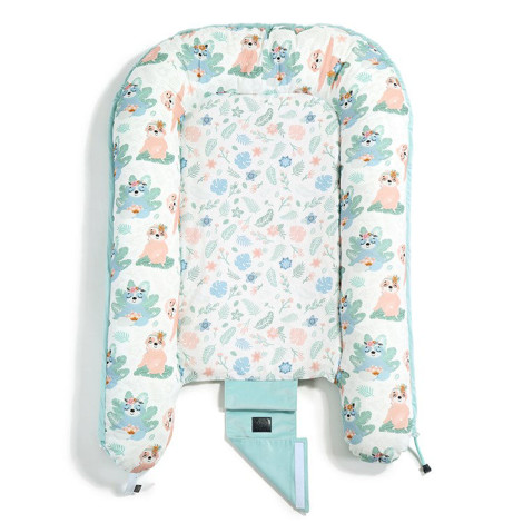 Imagine Baby Nest Velvet - Yoga Candy - Audrey Mint