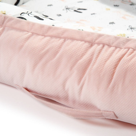 Imagine Baby Nest Velvet - Moonlight Swan