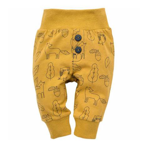 Pantaloni SECRET FOREST Galben F1