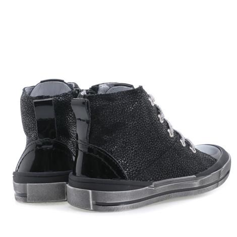 Incaltaminte din piele - handmade - Emel negru F2