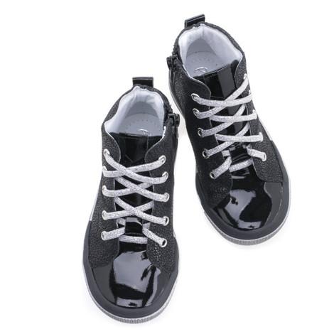 Incaltaminte din piele - handmade - Emel negru F5