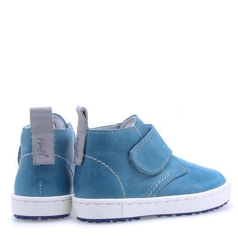 Incaltaminte din piele - handmade - Emel albastru F3