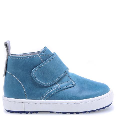 Incaltaminte din piele - handmade - Emel albastru F4