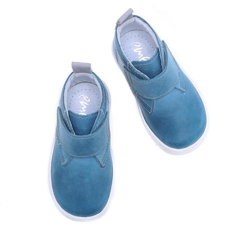 Incaltaminte din piele - handmade - Emel albastru F5