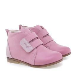 Incaltaminte din piele - handmade - Emel roz F1