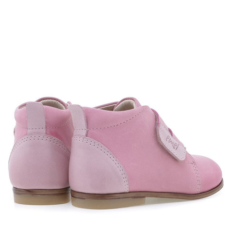 Incaltaminte din piele - handmade - Emel roz F2