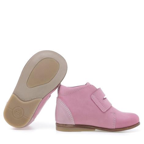 Incaltaminte din piele - handmade - Emel roz F3