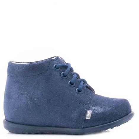 Incaltaminte din piele - handmade - Emel bleumarin F3