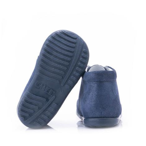 Incaltaminte din piele - handmade - Emel bleumarin F4