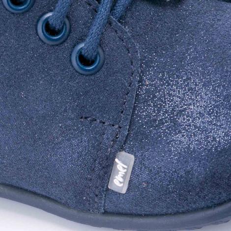 Incaltaminte din piele - handmade - Emel bleumarin F5