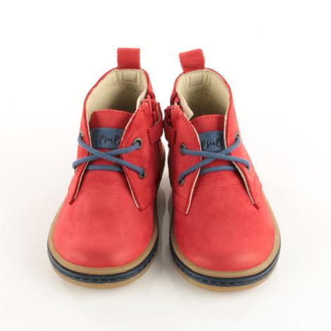 Incaltaminte din piele - handmade - Emel rosu F3