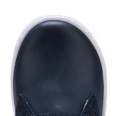 Incaltaminte din piele - handmade - Emel bleumarin cu albastru F6