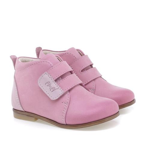 Incaltaminte din piele - handmade - Emel roz inchis F1