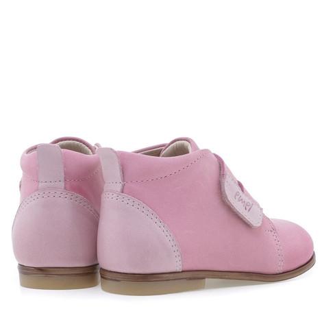 Incaltaminte din piele - handmade - Emel roz inchis F2