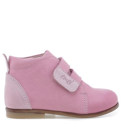 Incaltaminte din piele - handmade - Emel roz inchis F4