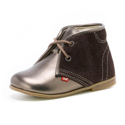 Pantofi Ortopedici din Piele Emel - Handmade maro F1