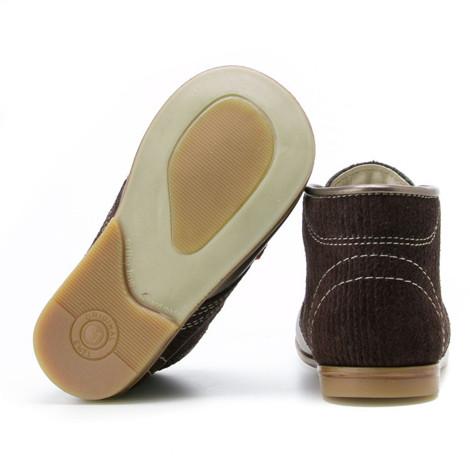 Pantofi Ortopedici din Piele Emel - Handmade maro F3