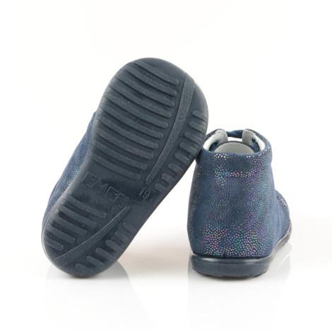 Pantofi Ortopedici din Piele Emel - Handmade bleumarin F3