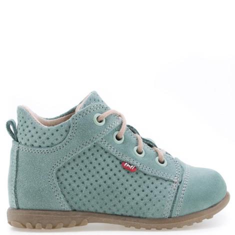 Pantofi Ortopedici din Piele Emel - Handmade verde F3