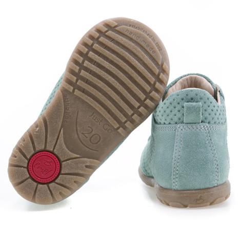 Pantofi Ortopedici din Piele Emel - Handmade verde F4