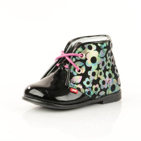 Pantofi Ortopedici din Piele Emel - Handmade negru F1