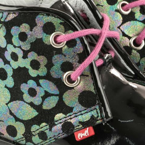 Pantofi Ortopedici din Piele Emel - Handmade negru F3