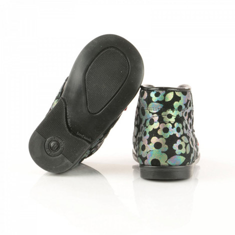 Pantofi Ortopedici din Piele Emel - Handmade negru F4