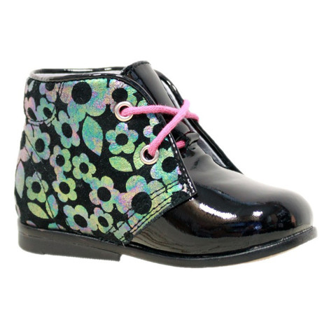 Pantofi Ortopedici din Piele Emel - Handmade negru F5