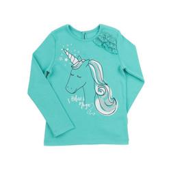 Bluziță Unicorn Verde F1