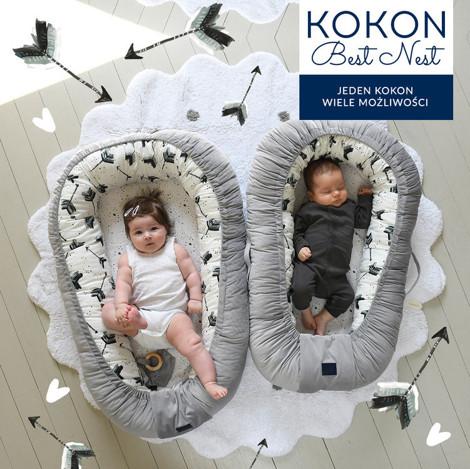 Imagine Baby Nest Velvet - Papagayo - Khaki