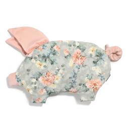 Imagine Pernuta Sleepy Pig Velvet - Blooming Boutique - Powder Pink