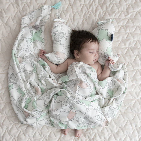 Imagine Patura Bamboo Swaddle - Route 66