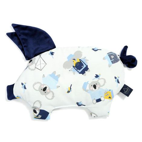 Imagine Perna Sleepy PIG Velvet - Hello World - Royal Navy