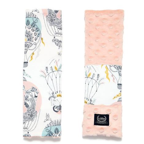 Imagine Protectie centura Minky - Cappadocia Dream - Powder Pink