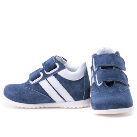 Imagine Adidasi din piele - handmade - Emel
