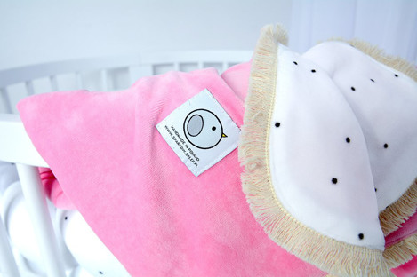 Imagine Patura Dots Collection - Baby Pink