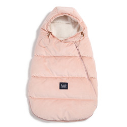 Imagine Sac pentru carucior Aspen BABY - Waterproof - Velvet collection - Powder Pink